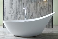 Акриловая ванна ABBER AB9234 190х80 см отдельностоящая