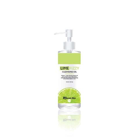Гидрофильное масло с лаймом Secret Skin Lime Fizzy Cleansing Oil