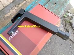 Смеситель KAISER Elite 01111-2 черный матовый высокий для раковины 2