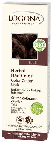 LOGONA Крем-краска для волос «ТИК»