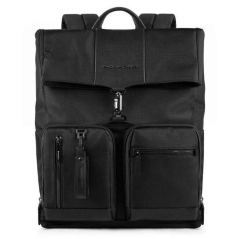 Рюкзак Piquadro Brief (CA4533BR/N) черный кожа/ткань