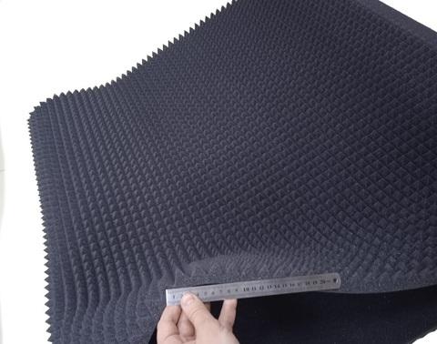 Акустический поролон ППУ м² Пирамида 20 мелкий формат клина