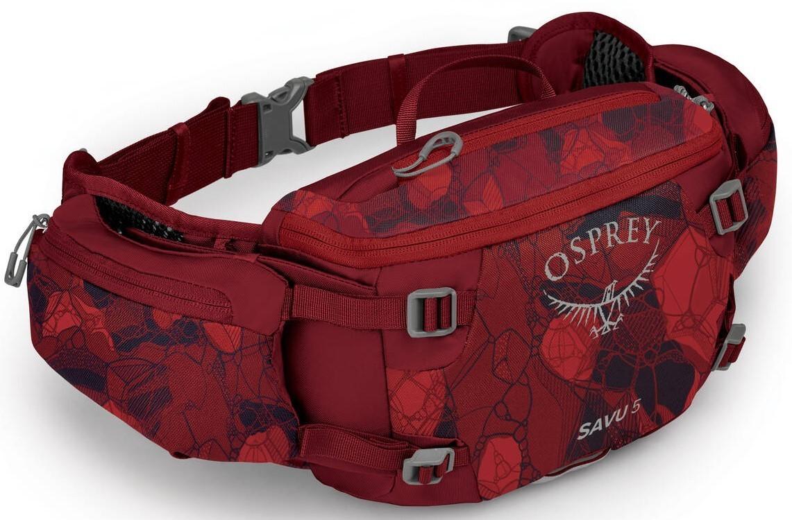 Сумки Сумка поясная Osprey Savu 5, Claret Red Savu_5_S21_Side_Claret_Red_web.jpg