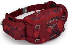 Сумка поясная Osprey Savu 5, Claret Red