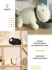 Мягкая игрушка-подушка Gekoko «Белый Бим Черный Глаз» 2