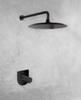 Встраиваемый смеситель для душа TZAR 341801SNM черный, на 1 выход - фото №2