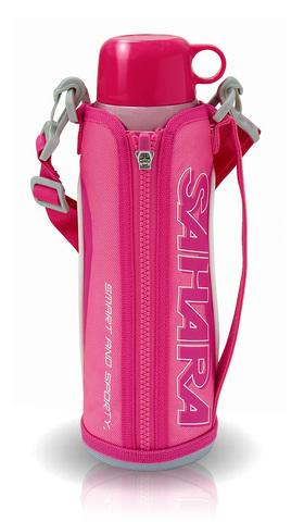 Термос Tiger MMN-W (1 литр), розовый