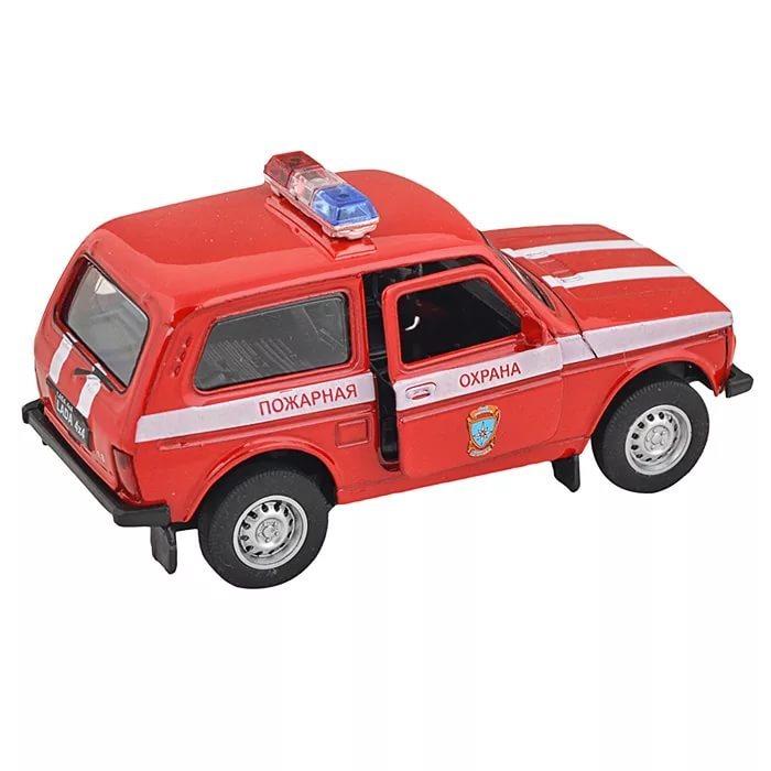 Машинка-игрушка LADA 4x4 Нива Пожарная охрана