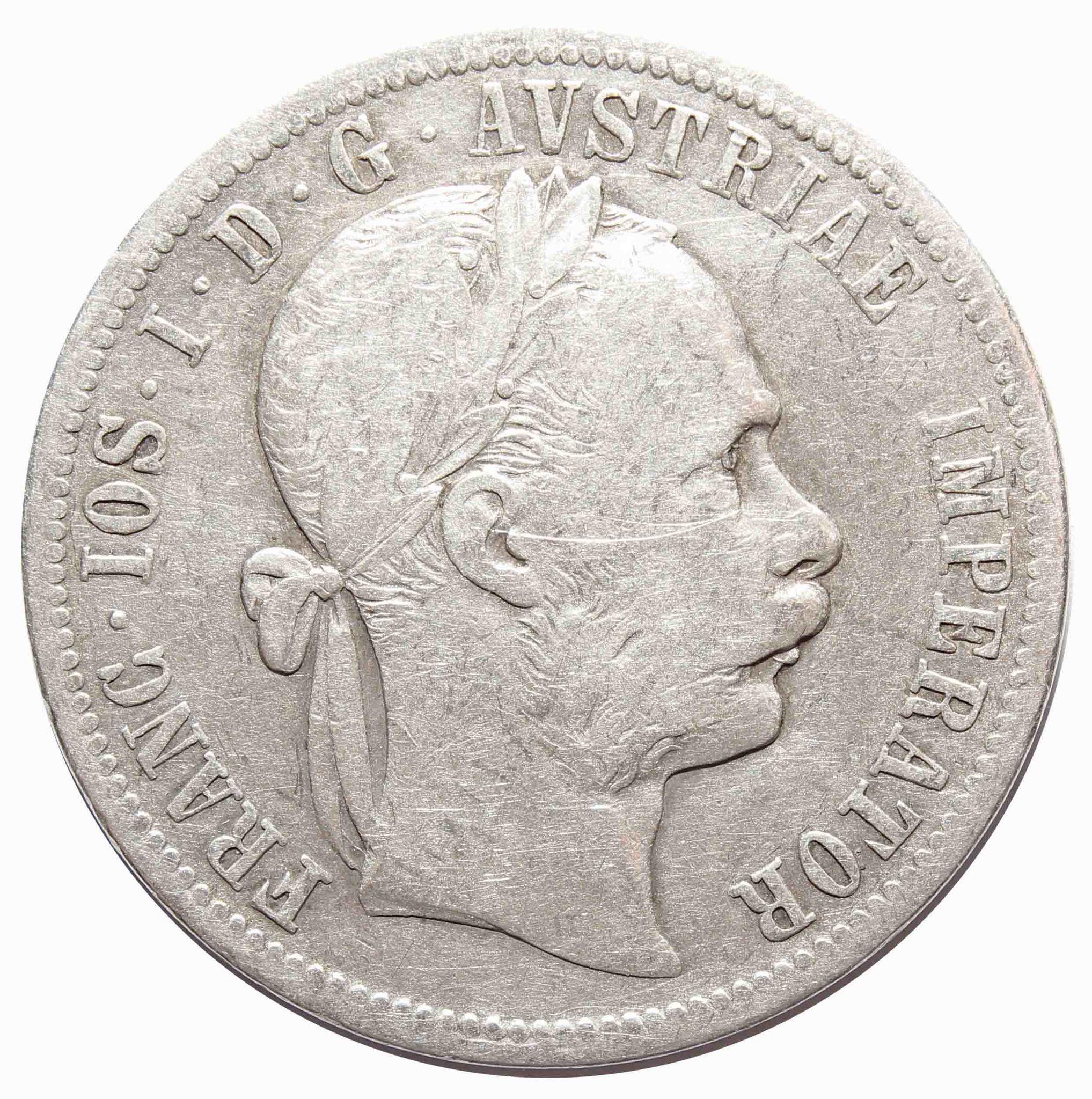1 флорин 1891 год, Австрия. VF
