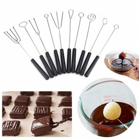 Набор вилок для изготовления конфет, 10шт