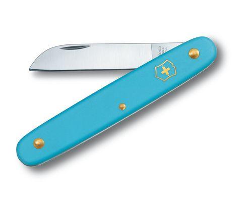 Нож Victorinox EcoLine Floral, 100 мм, 1 функция, голубой