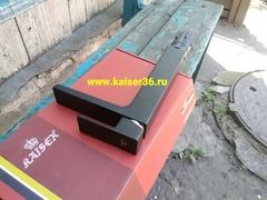 Смеситель KAISER Elite 01111-2 черный матовый высокий для раковины 4