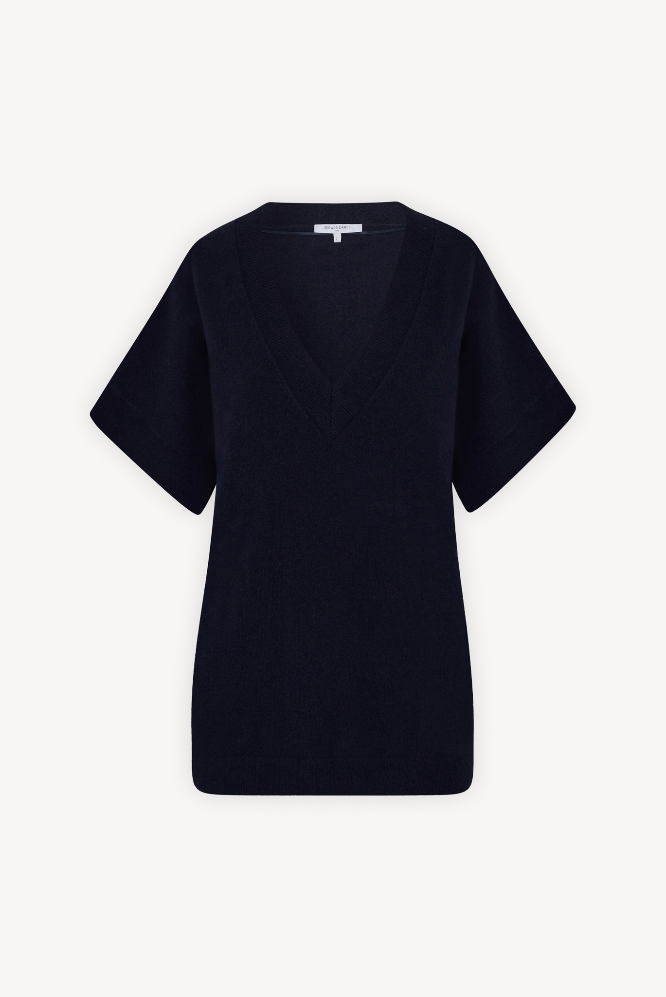 LAIA - Оверсайз пуловер с короткими рукавами