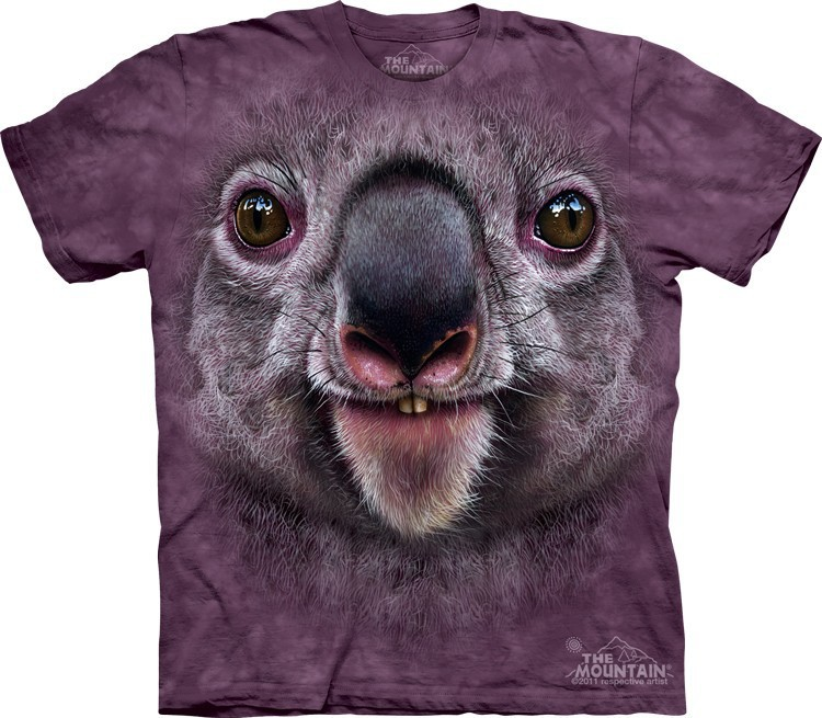 Футболка Mountain с изображением коалы - Koala Face