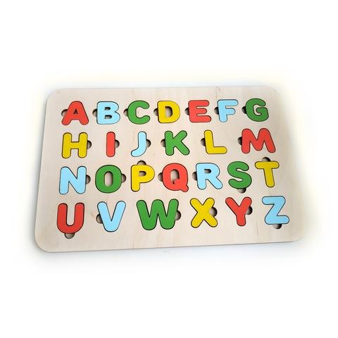 Буквы-вкладыши английские
