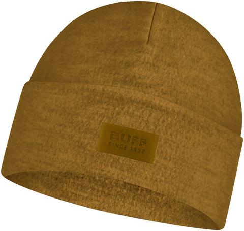 Шерстяная шапка с флисом Buff Hat Wool Fleece Ochre фото 1