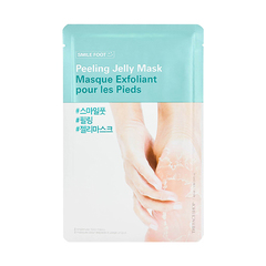Пилинг-маска для ног THE FACE SHOP Smile Foot Peeling Jelly Mask 1ea