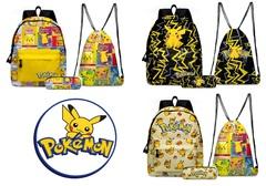 Пикачу школьный комплект рюкзак пенал мешок