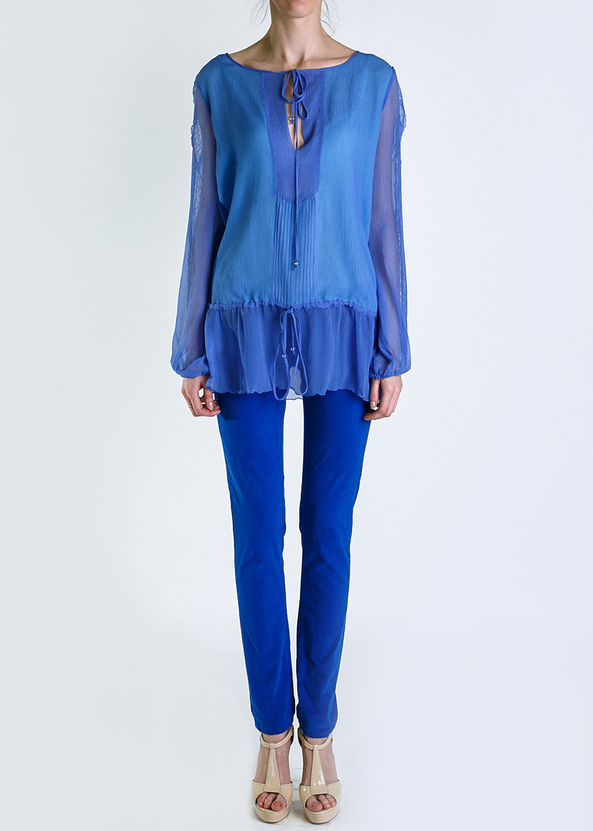Блуза из шелка BLUGIRL BLUMARINE