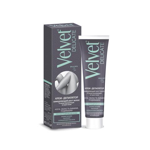 Velvet Крем- депилятор Замедляющий рост волос и предотвращающий их врастание