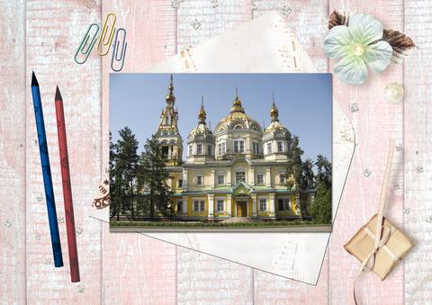 Вознесенский Кафедральный Собор 2, г.Алматы, парк 28 панфиловцев-гвардейцев