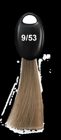 OLLIN N-JOY  9/53 – блондин махагоново-золотистый, перманентная крем-краска для волос 100мл