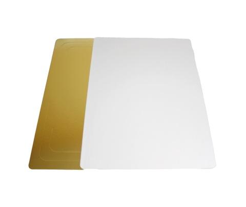 Подложка D30*40(3,2мм) золото квадрат