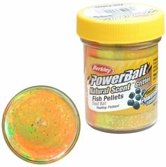 Паста Berkley PowerBait Natural Scent Trout Bait (пеллетс/радужный)