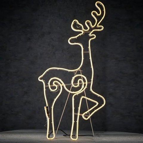 Декор Олень теплый белый свет 720 ламп 41,5x95,5 см