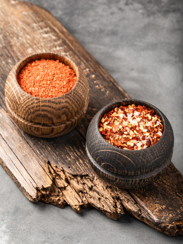 Набор круглых соусников из дуба, 2 предмета
