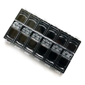 Контейнеры для мелочей Боксы для хранения украшений, черный, 12 ячеек 3713_1_2.jpg