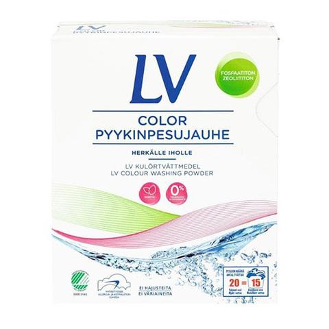 LV Гипоаллергенный концентрированный стиральный порошок COLOR 750 гр, концентрат
