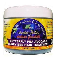 Маска для роста волос с мотыльковым горошком, медом и авокадо NT GROUP