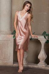 Сорочка женская натуральный шелк Mia-Mia персик
