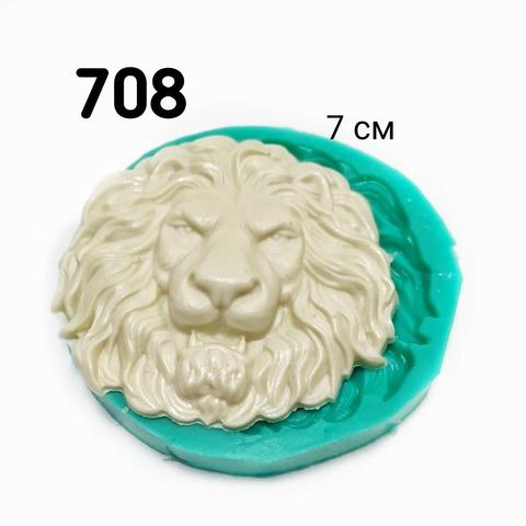 0708 Молд силиконовый. Голова льва.