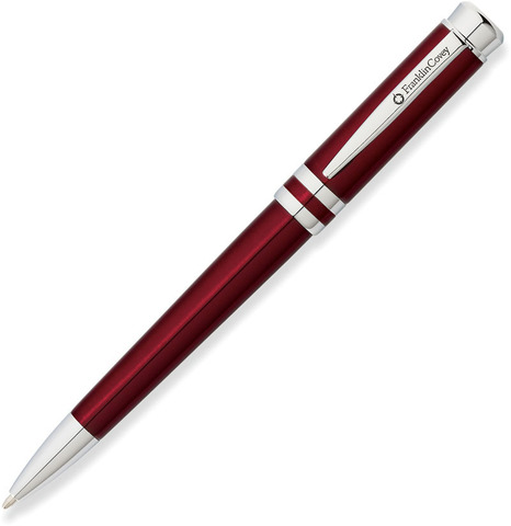 Шариковая ручка Franklin Covey Freemont  (FC0032-3) Red Chrome M BL