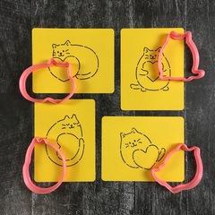 Кот с сердцем №5