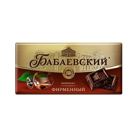 Шоколад Бабаевский фирменный, 100 гр.
