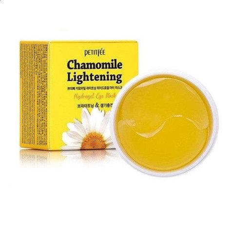 Осветляющие патчи с экстрактом ромашки PETITFEE Chamomile Lightening 60 шт.