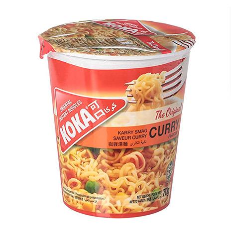 Лапша Cup Noodle со вкусом карри Koka, 72 г