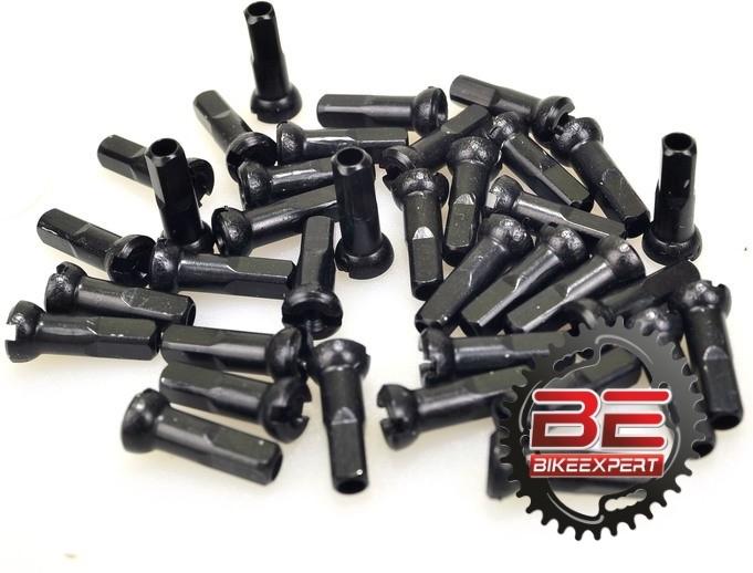 Ниппель для спиц DT Swiss Black 2,00*12 мм черный