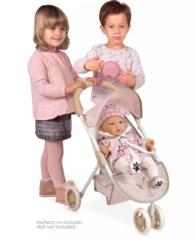 DeCuevas Прогулочная коляска джоггер для куклы, серия Диди, 55 см. (90243)