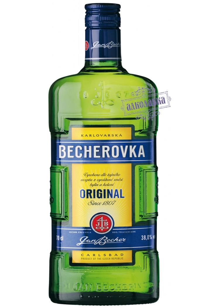 Бехеровка. Чешский ликер. 0,5 Л