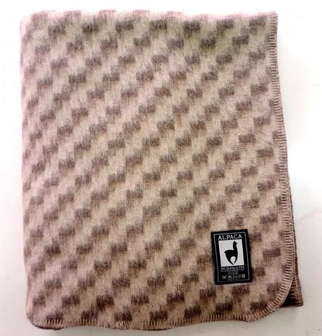 Одеяло шерстяное Стейн капучино