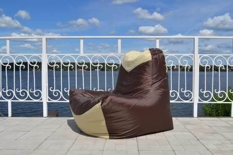 Кресло-мешок «Классическое» Коричнево-бежевое