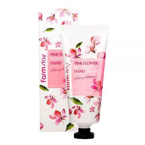 Farm Stay Pink Flower Blooming Hand Cream Cherry Blossom крем для рук