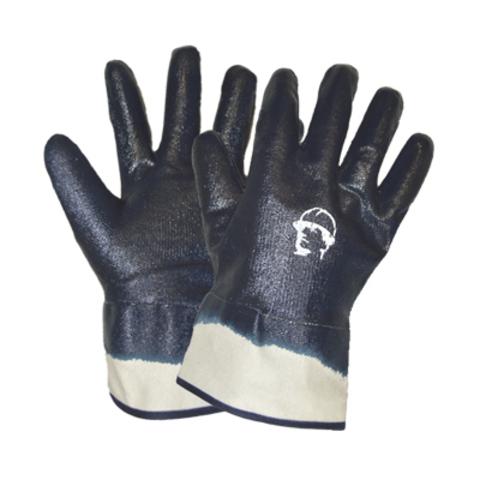 Перчатки ХБ с нитриловым покрытием крага
