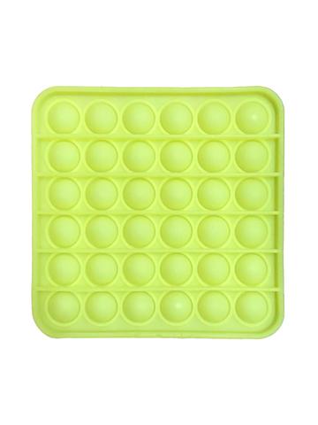Поп Ит Игрушка антистресс Вечная пупырка Фосфорный квадрат Попит 12,5 х 12,5 см POP IT