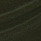 Хлопковый с кашемиром вельвет в рубчик цвета зелёный хаки
