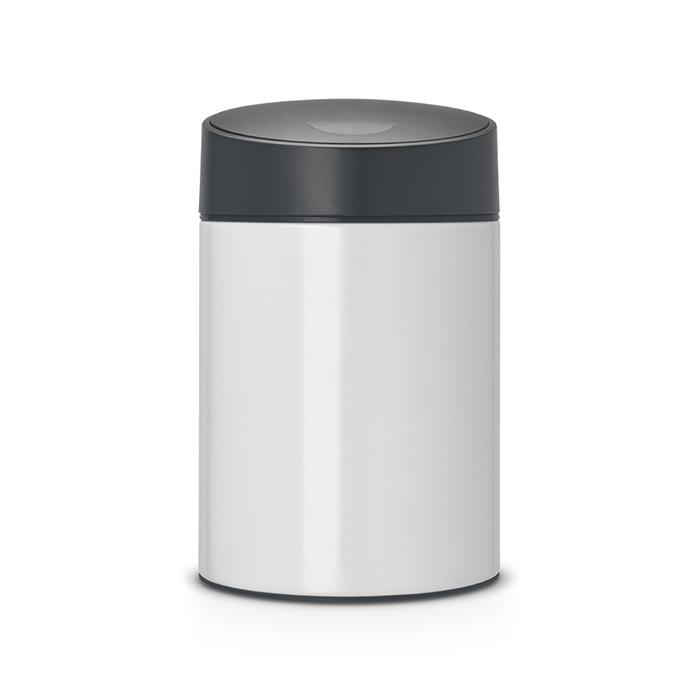 Ведро для мусора с крышкой SLIDE (5л), артикул 483165, производитель - Brabantia